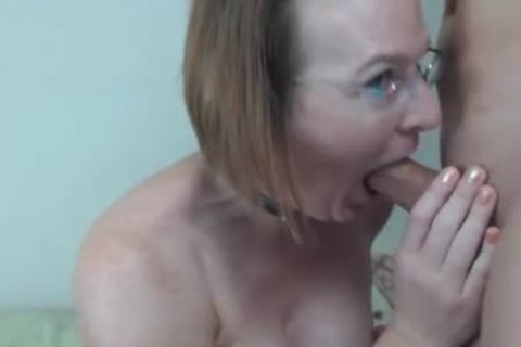 old tranny gets Titty fucked And ejaculated